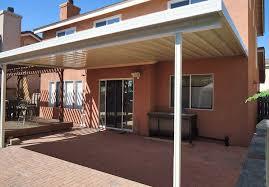 standard aluminum patio covers