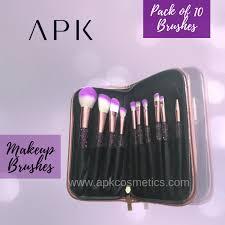 pack of 10 apk makeup brushes apk