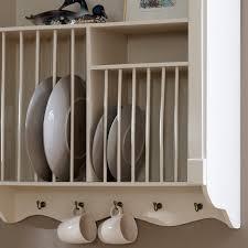 lyon range cream wall mounted plate