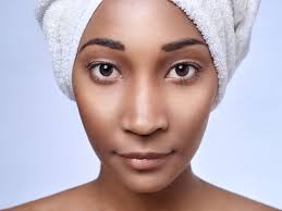 large pores and a flawless plexion
