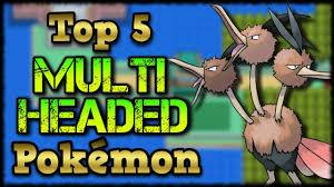 Top 5 Multi-Headed Pokémon! (Ft. SciStatics) - YouTube