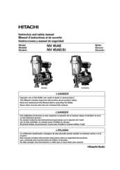 hitachi nv45ae coil roofing nailer