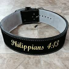 custom made weightlifting belts