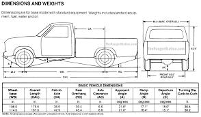 ford ranger dimensions the ranger station