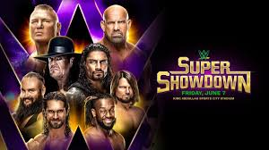 WWE Super ShowDown: Full match card, start time in Saudi Arabia ...