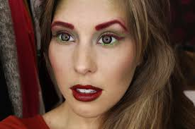 costume ideas poison ivy makeup