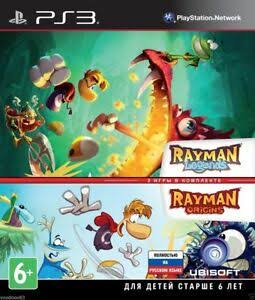 Image result for rayman legends and rayman origins russian""