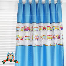 S V Hot Sale Ikea Children S Room Dynamic Train Drapes The Boy Window Blue Curtains Finished Products Blinds For Kids 1 Panel Curtain Dress Curtains Diycurtain Patterns To Sew Aliexpress