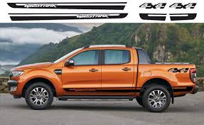 Product Ford Ranger Wildtrak 4x4 Side Vinyl Decals Graphics Rally Sticker Kit