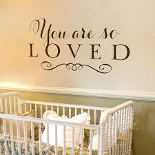 Childrens Wall Decals You Are So Loved Old Barn Rescue