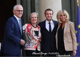 PM Malcolm Turnbull & wife Lucy with ...