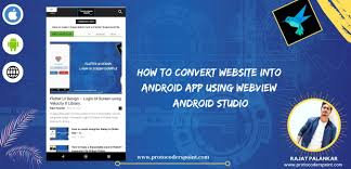 how to convert into android app