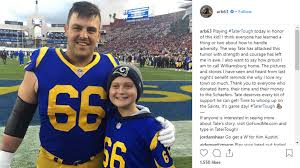 Williamsburg's Blythe preps for Super Bowl with Rams | KGAN