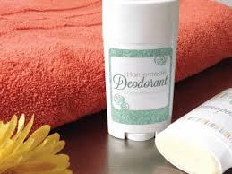 homemade deodorant stick houseful of