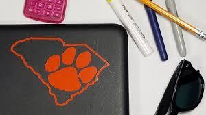 Clemson University Decals Yeti Decal Laptop Decal Ph