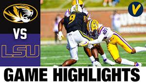 Missouri vs #17 LSU Highlights | Week 6 College Football Highlights
