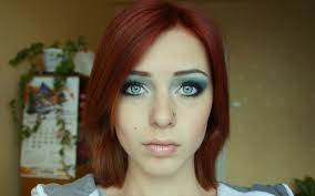 face women redhead model long hair