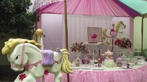 Carrusel Fiesta De Carrusel Decoracion De Fiestas Youtube