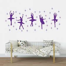 Ballet Dance Ballerinas Stars Vinyl Wall Art Decal