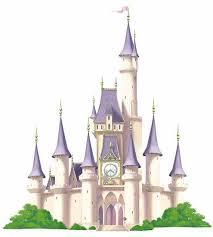 Princess Castle Disney Giant Wall Decal