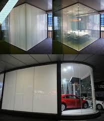 smart glass window blind