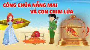Công Chúa Nắng Mai Và Con Chim Lửa | Truyện Cổ Tích Việt Nam