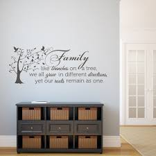 family like branches on a tree vinyl wall decal family wall