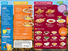 denny s new adventure menu for kids is