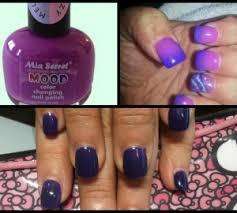 70 s inspired color changing nail polish