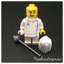 Lego Series 13 Fencer Minifigure Toys Games On Carousell