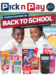pick n pay mive savings on back to