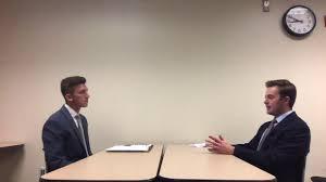 Employment Interview: Adam Eich - YouTube