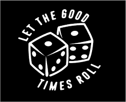Let The Good Times Roll Dice Decal Custom Vinyl Car Truck Window Sticker In 2020 Truck Window Stickers Custom Vinyl Custom Vinyl Decal