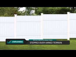 Pre Built Bracketed Privacy Vinyl Panels By Veranda Built By Barrette Youtube