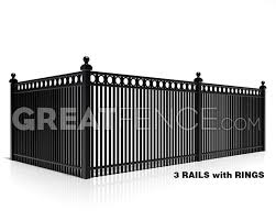 Residential Aluminum Fence Panel Style 7 Aluminum Fence Fence Panels Aluminum Fence Privacy