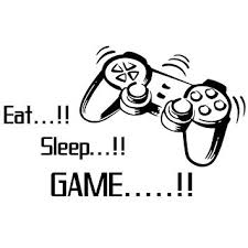 buy homefind gamers world eat sleep game quotes wall stickers