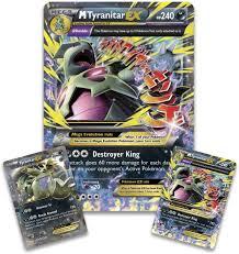 Amazon.com: Pokemon TCG: Mega Tyranitar EX Premium Collection Box ...