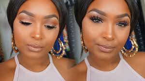 soft glam makeup tutorial brown dark
