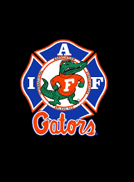 Iaff Florida Gators Car Decal For Union Firefighters Free Etsy