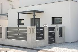 Nowoczesne Ogrodzenia Warszawa Aludom House Fence Design Modern Fence Design Fence Design