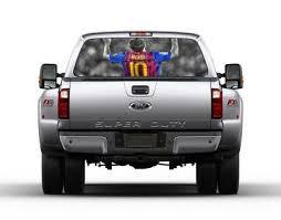 Leo Messi Barca Rear Window Decal Sticker Car Truck Suv Van Barcelona Lionel 529 Auto Parts And Vehicles Car Truck Graphics Decals Magenta Cl