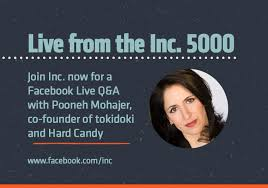 """Inc. on Twitter: """"And we're live with Pooneh Mohajer, co-founder of Hard  Candy and tokidoki! Join us here: https://t.co/l9Plbfq7W9… """""""