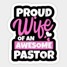 proud wife awesome pastor gift