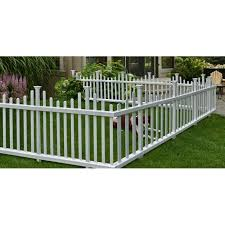 2 5 Ft H X 4 7 Ft W Madison No Dig Garden Fence Panel Garden Fence Panels Fence Panels Garden Fence
