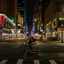 broadway shuttered by pandemic