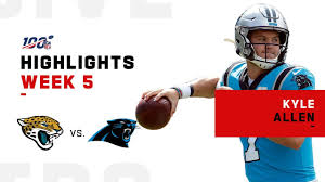 Kyle Allen Highlights vs. Jaguars