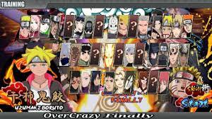 Download Naruto Senki Mod Apk Full Character Terbaru