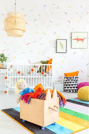 White Child Room With Wooden Toy Box Stock Photo Picture And Royalty Free Image Image 68553666