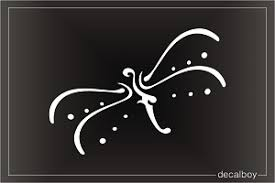 Dragonfly Decals Stickers Decalboy
