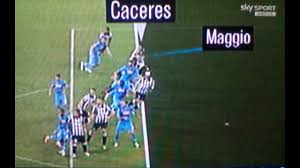 Napoli Juventus 1 3 Boban: gol Caceres e' fuorigioco Benitez ...